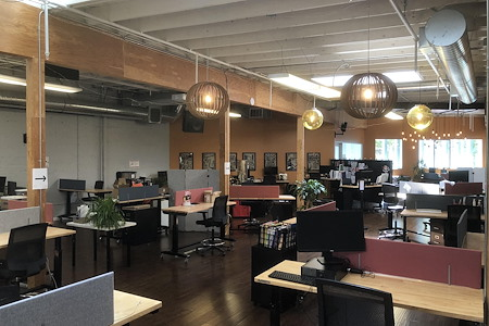 Intersection for the Arts - Creative Coworking Space - Natural Light