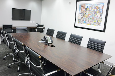 Corporate Suites: 1180 6th Ave (46th) - Conference Room (10 People)