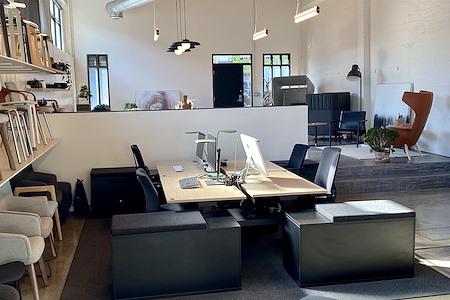 Creative Space for a Creative Team - Open Desk 2