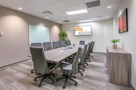 Office Evolution - Jacksonville - Citrus Room -Conference Room 2