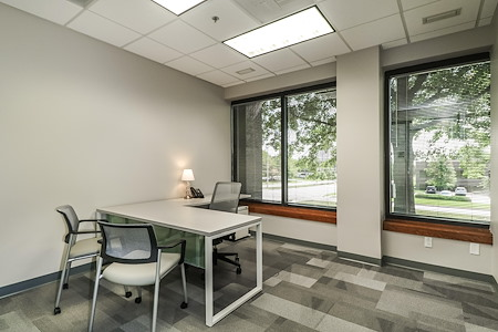 Office Evolution - Overland Park - Office 130 --Roomy, exterior window