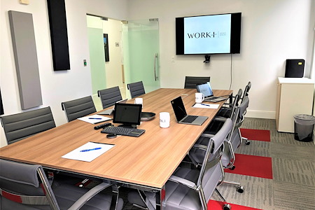 Work Plus Office - Conference Room for 10 People