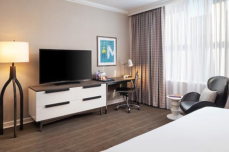 Grand Hotel Minneapolis, a Hyatt Hotel - Private Guest Room with 1 or multiple desks - day use available as well