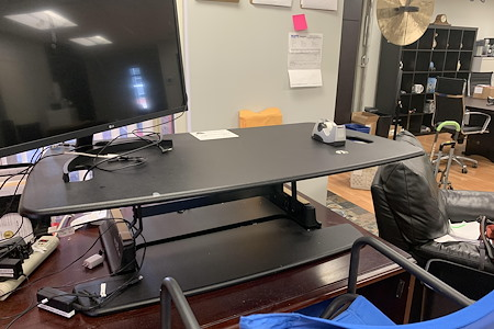 TLF Publications, Inc. - Desk & Chair 4-Standing or Sitting Desk