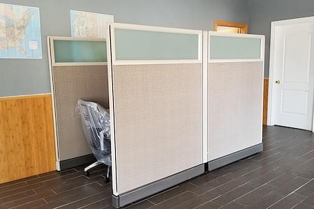 Zebra Stripes - Dedicated Desk 2