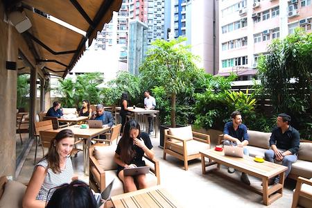The Hive Sheung Wan - Outdoor Terrace
