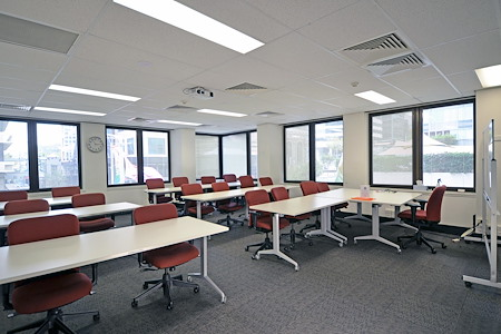 North Sydney Training Centre - Red Room (windows with natural light)