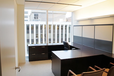 AdvantEdge Workspaces - Downtown Center - Private, Windowed Office
