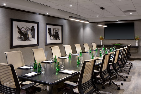 Fine Arts Boardroom at Amway Grand Plaza - Fine Arts Executive Board Room