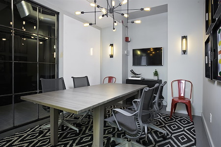WorkHouse NYC | Midtown - Grand Central - Conference Room (14th Floor)- TV