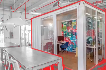 Three Sixty Spaces - Container Office