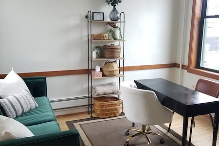 Relate Psychological Services LLC - Private office with waiting area