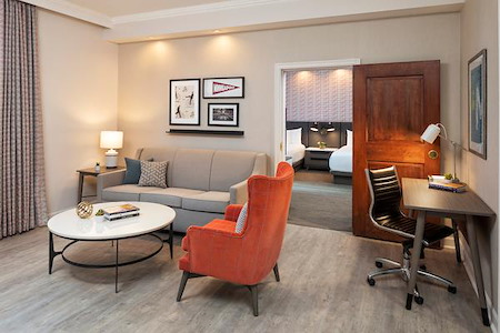 Grand Hotel Minneapolis, a Hyatt Hotel - Office out of our new rooms or suites