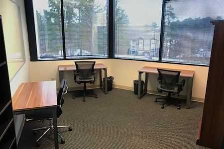 TKO Suites - Raleigh, NC - Bright, Corner Executive Suite