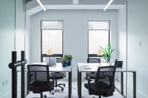 Bond Collective Bushwick - 3 Desk Office (Interior & Window)