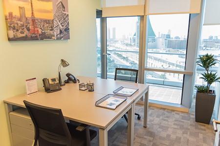 Regus | Bahrain, World Trade Centre - Dedicated Desk