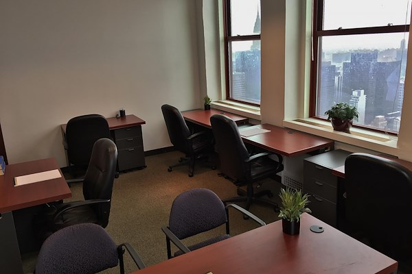 Virgo Business Centers Empire State - Empire State Corner Window Office for 5