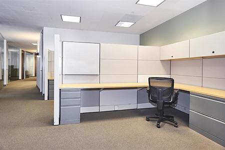 Raven Office Centers - 388 Market - Semi Private Workstation