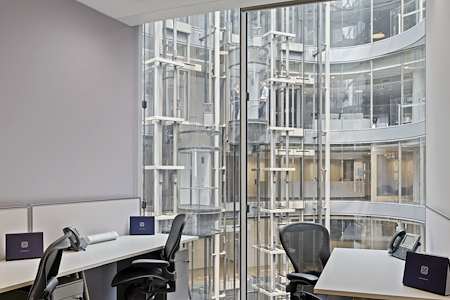 The Executive Centre - One Bligh Street - 3-Desk Private Office - Atrium Views