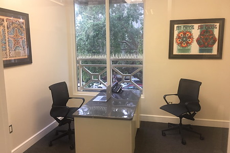 Delray on the Ave - Overlooking Old School Square - Private Office w/ Window on the Ave