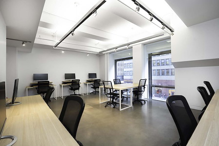 Space 530 – NYC Midtown - 15 Person Private Office w Window Wall