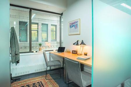 Bond Collective 55 Broadway - Unit 305   3-desk w/ window