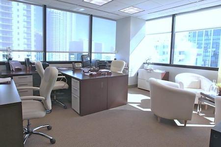 Brickell Business Center - Corner Office Suite 1805