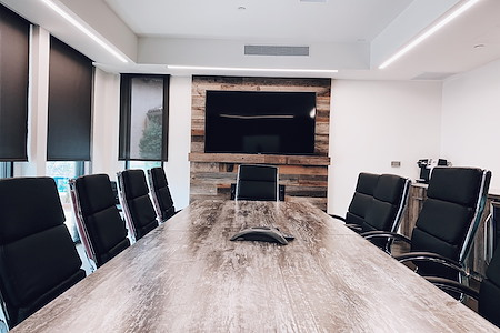 CUBE Executive Suites at Market Street - Executive Boardroom for 12