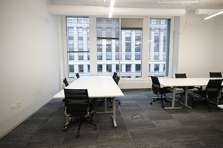 MakeOffices at River North - 7 Person Window Office