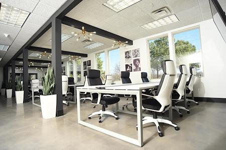 """TREF Legacy Center AKA """"The Black House"""" - Co-Working Desk"""