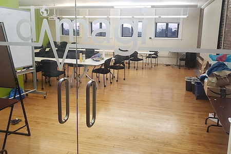Great location & bright open event space! - The Green Room