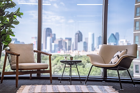 Venture X | Uptown Dallas - Office 530 - views of downtown Dallas