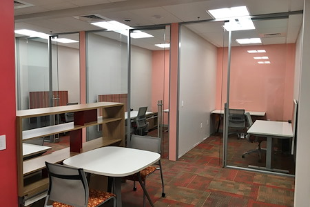 Red Oak Coworking Offices - Private Glass Office Space