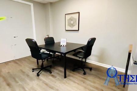 Athens Workspaces Sunrise - Open Desk 1