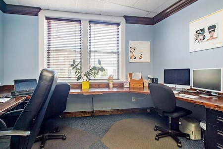 The (Co)Working Space in Woodbridge - CoWorking Hotspot Desk 12