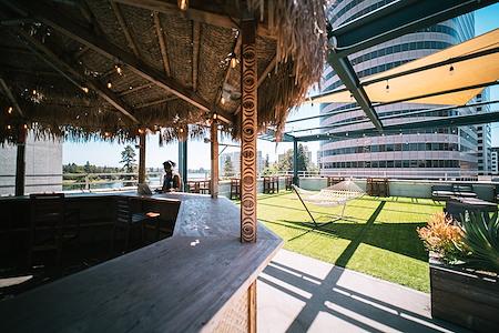 The Port @ Kaiser Mall (Uptown) - Rooftop Terrace overlooking Lake Merritt