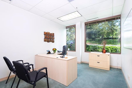 Executive Base Network - 1 Person Private Window Office