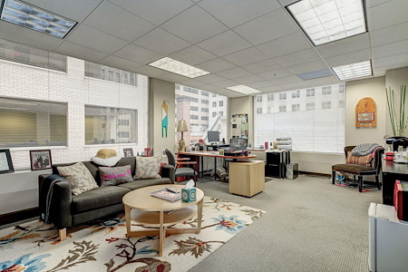 Carr Workplaces - City Center - 522 & 523: 2-Office Corner Suite: