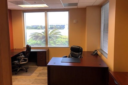 Orlando Office Center at Millenia - Office #101 - Two Desk Window Office