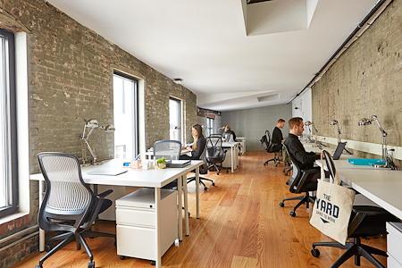 The Yard: Gowanus - Dedicated Desk for 1