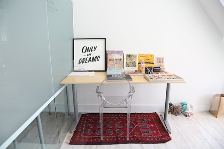 Cubico- Soho - Creative Space for 2 People in soho