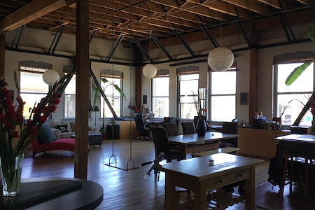 MyGroove Design, Inc. - Open Shared Creative Work Loft Space
