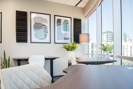 WORKSUITES-Uptown Cole Ave - ExecutiveSuite - Window