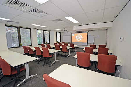 North Sydney Training Centre - Green Room (windows with natural light)