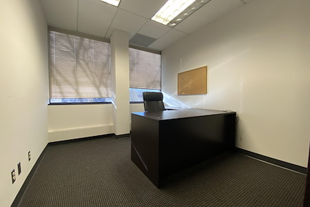 Brightstar Capital LLC - Private office w/window & cubicle