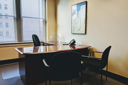 ExecuSuites Downtown LLC - Window office 404