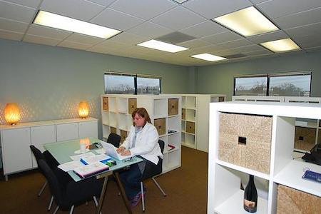 Amanda at YourOffice SouthPark - Corner Team Room # 552