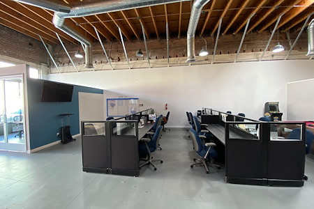 Office Space in Downtown Pomona - Open Desk 1