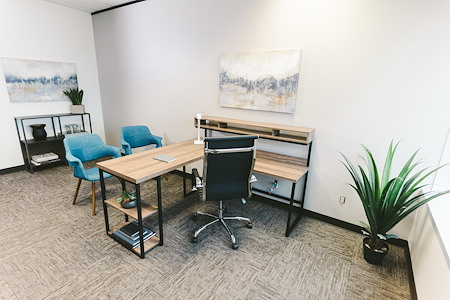 WORKSUITES | Houston Galleria - INTERIOR OFFICE | 1-3 PEOPLE
