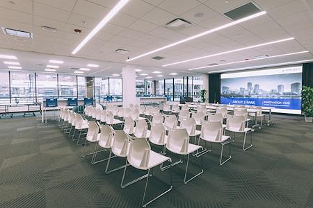 Z-Park Innovation Center Boston - 4258 Sq. Ft. Event Space- Full AV System